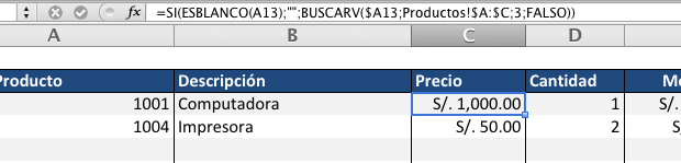 Factura Automática con Excel